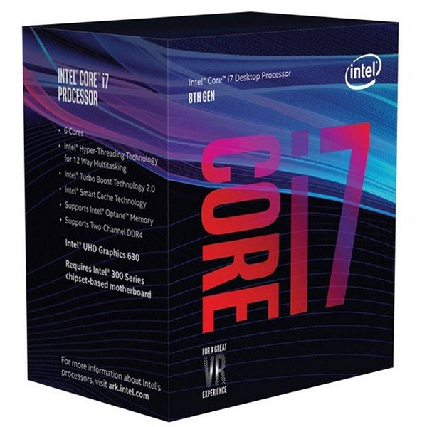Procesador Intel Core i7-8700 3.20GHz 12MB LGA1151