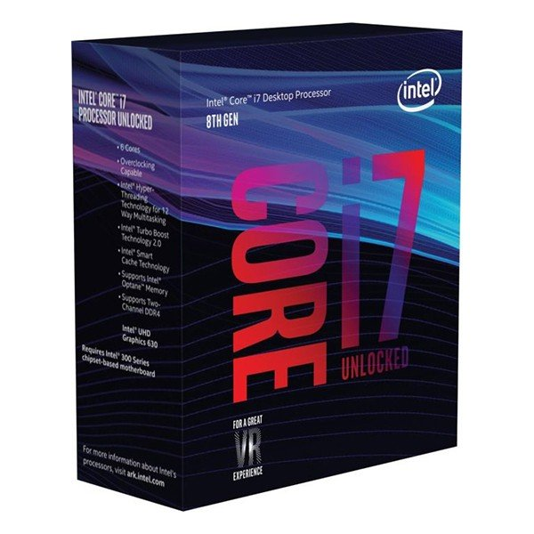 Procesador Intel Core i7-8700K 3.70GHz 12MB LGA1151