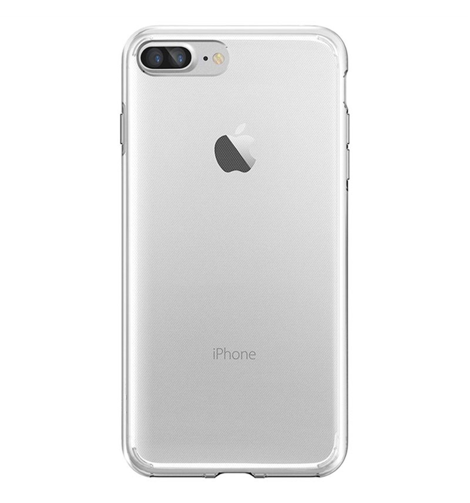 iPhone 7 Plus Funda Silicona Transparente