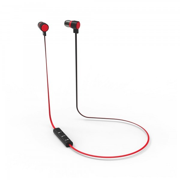 Auriculares Deportivos Bluetooth XLayer Wireless Sport In-Ear Negro / Rojo