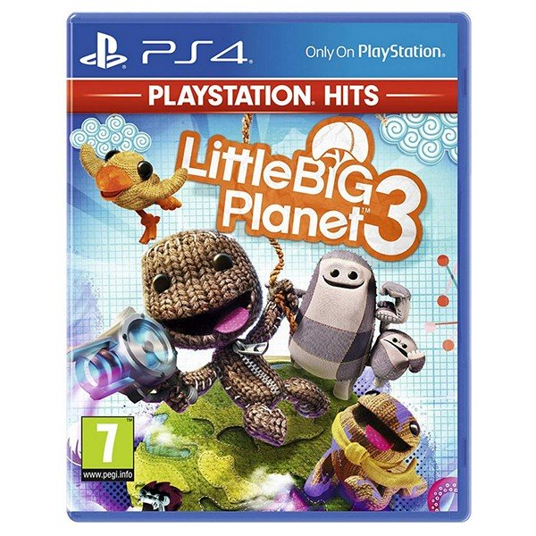 PS4 Juego Little Big Planet 3 PS HITS