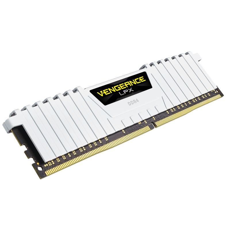 Kit Memoria Corsair Vengeance LPX 16GB DDR4 3000MHz (2x8GB) Blanco