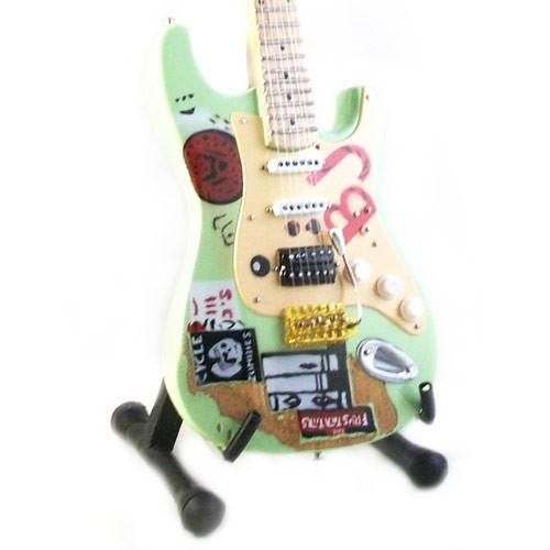 Mini Guitarra De Colección Estilo Green Day - Billie Joe Armstrong