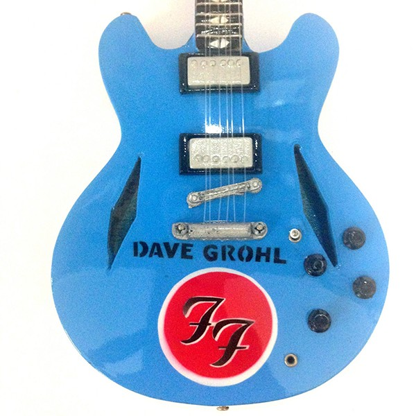 Mini Guitarra De Colección Estilo Foo Fighters - Dave Grohl