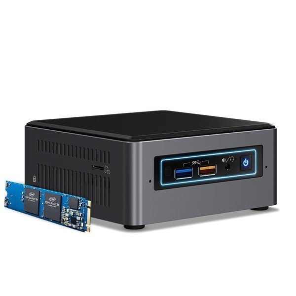 Mini PC Intel Nuc BOXNUC7I3BNHX1 i3-7100U Con Intel Optane 16GB