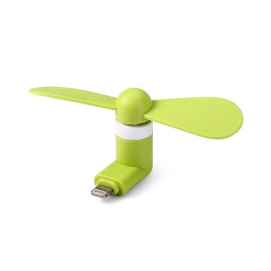 Mini Ventilador para iPhone Verde (Lightning)