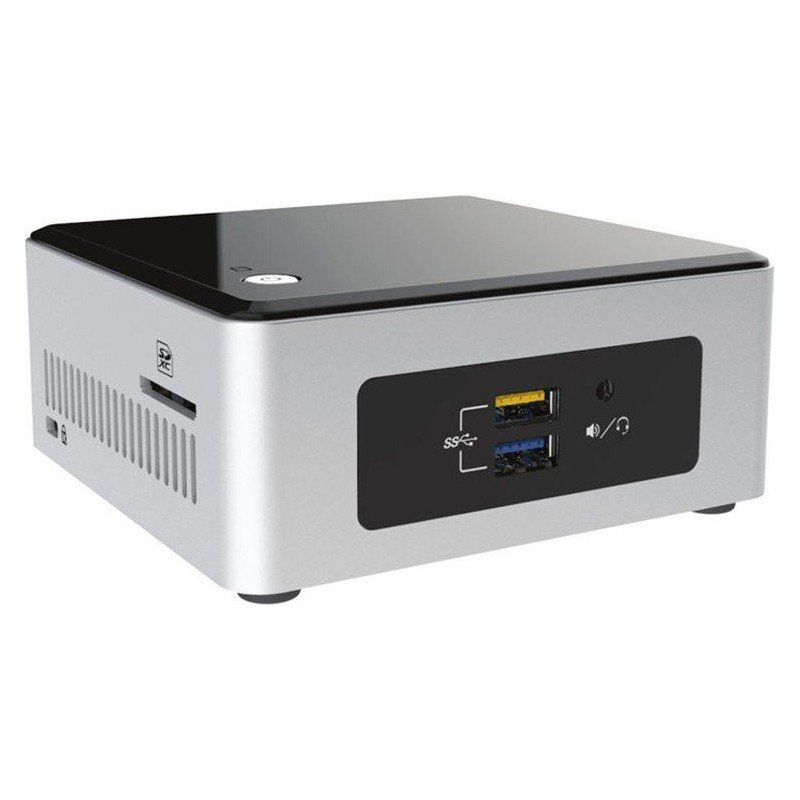 Mini PC Barebone Intel Nuc NUC5CPYH HTPC Negro