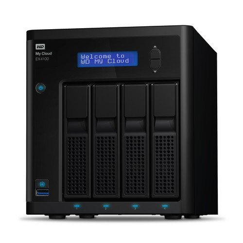 NAS 16TB Western Digital My Cloud EX4100 (hasta 24TB)