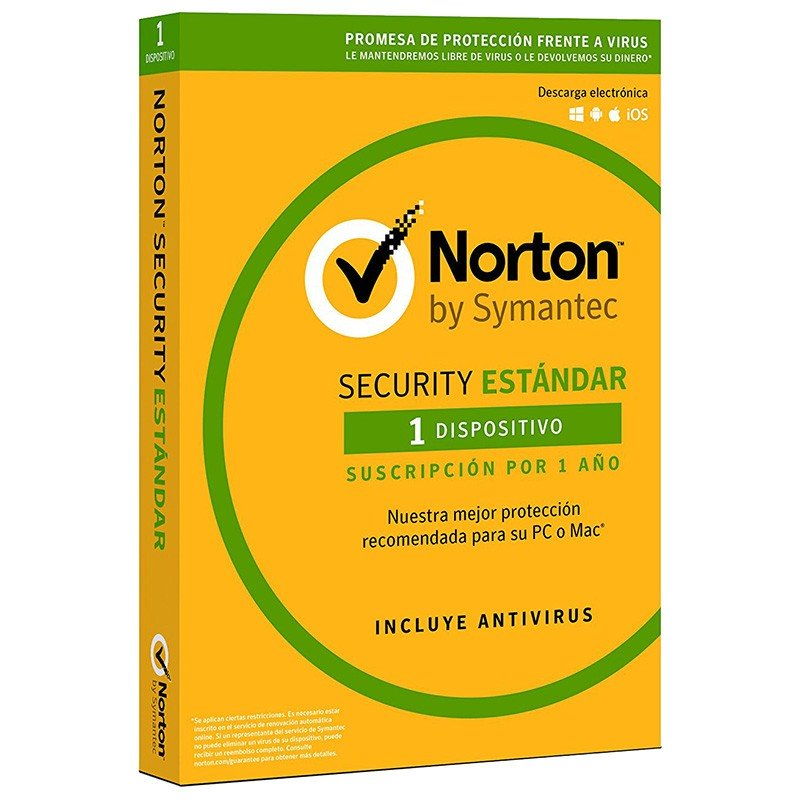 Norton Security Estándar 2018 1 Dispositivo