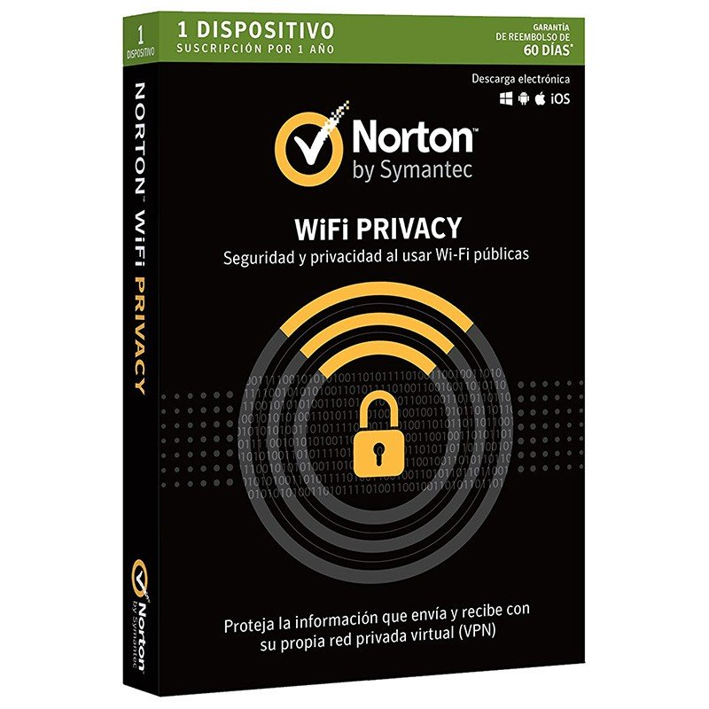 Norton Wifi Privacy 2018 1 Dispositivo