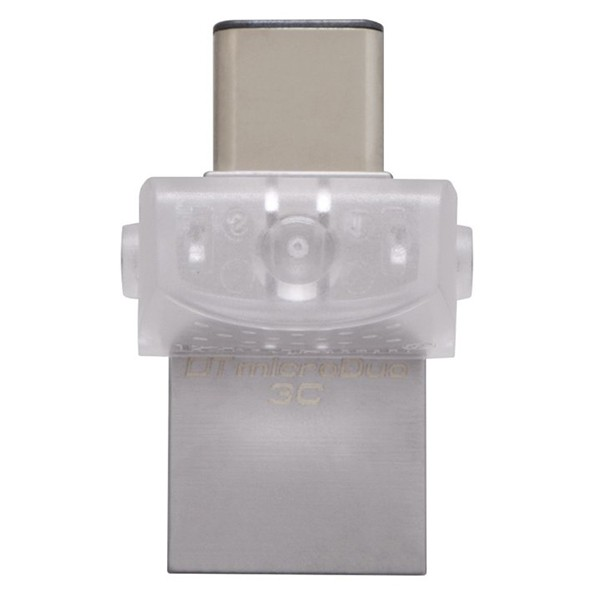 Pendrive 128GB con USB 3.1 (2 en 1) Kingston DataTraveler microDuo 3C