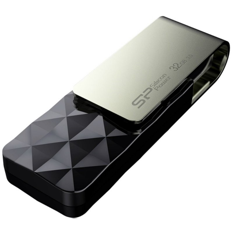 Pendrive 32GB Silicon Power Blaze B30 USB 3.1 Negro