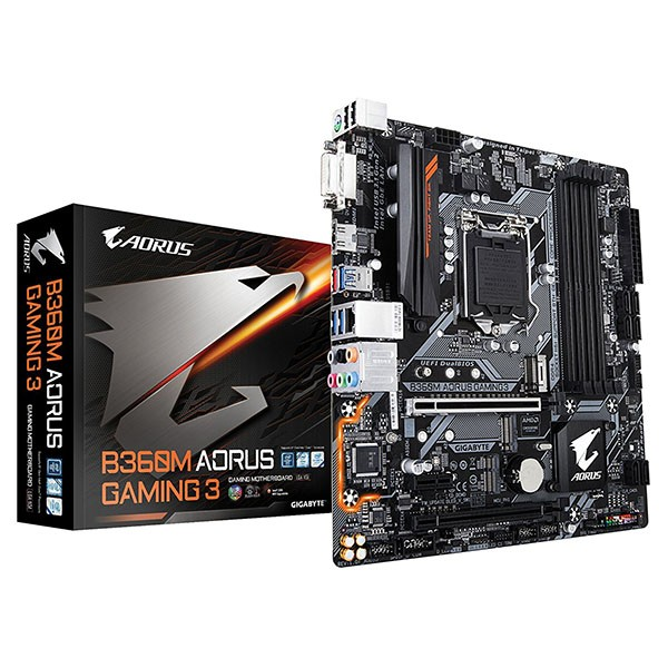 Placa Base Aorus B360M Gaming 3 mATX LGA1151(300)