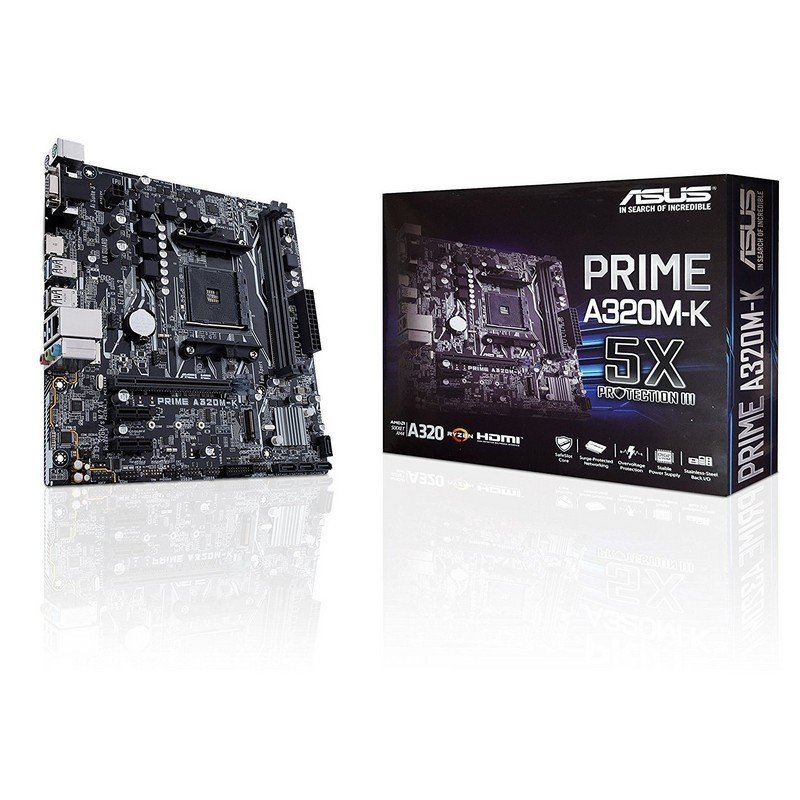 Placa Base Asus PRIME A320M-K mATX Socket AM4