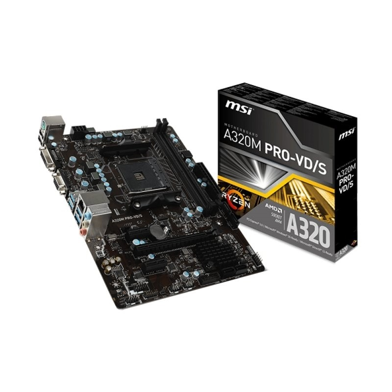 Placa Base MSI A320M PRO-VD/S mATX AM4