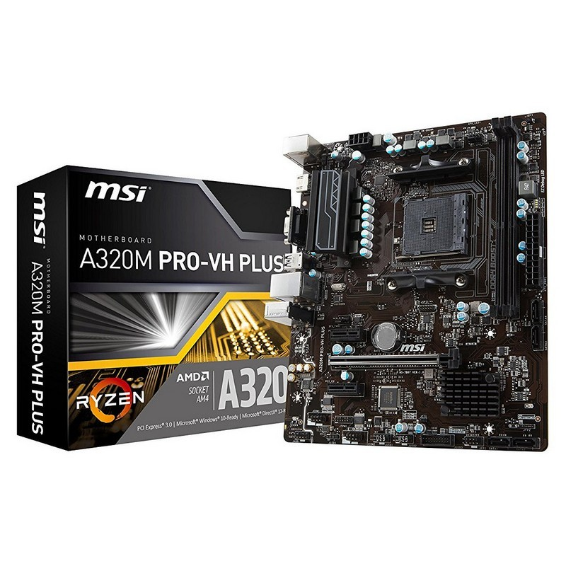 Placa Base MSI A320M PRO-VH PLUS mATX AM4