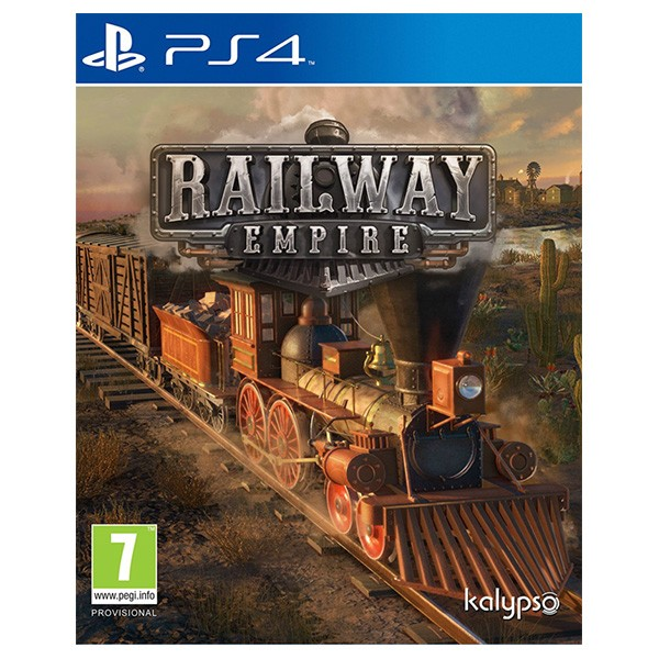 PS4 Juego Railway Empire