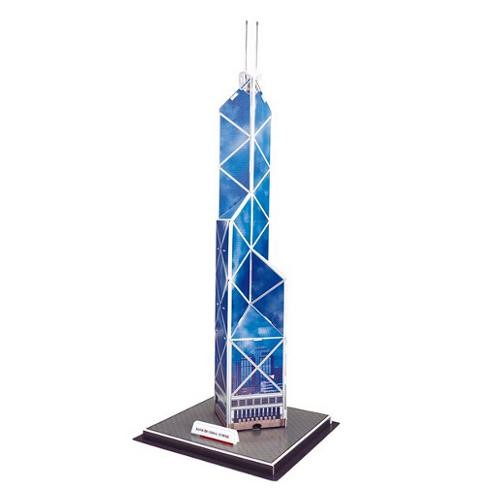 Puzzle Kit 3D HK Bank of China Tower (14 piezas)