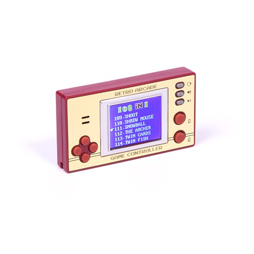 Mini Consola Retro Pocket Games con Pantalla LCD