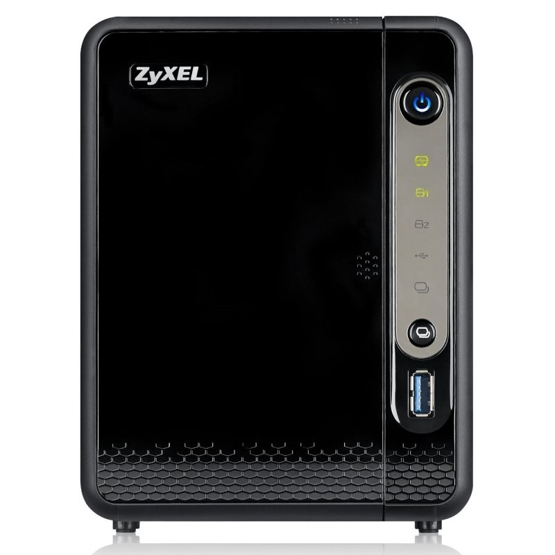 Servidor NAS ZyXEL NAS326 NAS 2-Bay Thread Cloud Storage
