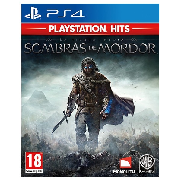 PS4 Juego La Tierra Media: Sombras de Mordor PS HITS