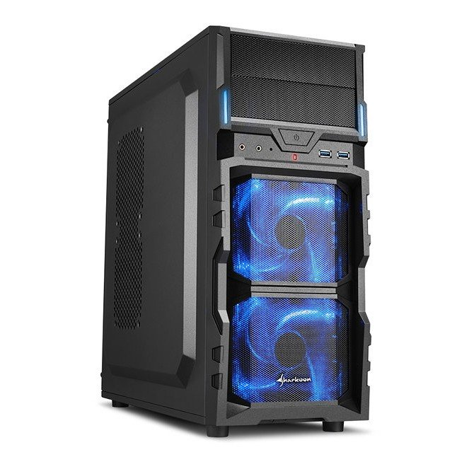 Caja PC ATX Sharkoon VG5-V Led Azul