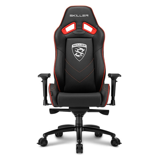 Silla Gamer Sharkoon Skiller SGS3 Gaming Seat Acolchada Roja