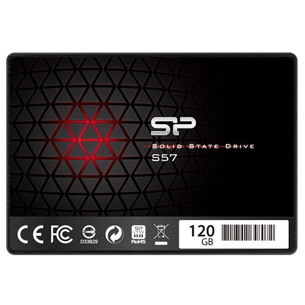 Disco Duro SSD 120GB Silicon Power Slim S57 2.5 Sata3