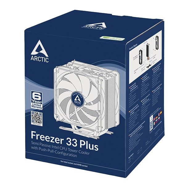 Ventilador CPU Arctic Freezer 33 PLUS