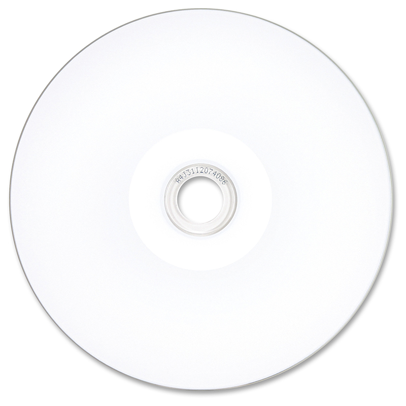 DVD-R 16x 4.7GB Verbatim SmartDisk Pro White Thermal Printable 100 uds