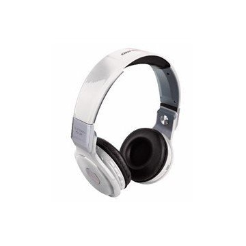 Auriculares Bluetooth Reproductor MP3 WOO PS400B Blanco