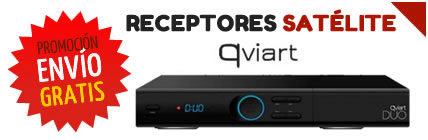 Decodificadores qviart env�o gratis