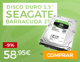 3.5 Disco Duro 2TB Seagate BarraCuda ST2000DM006