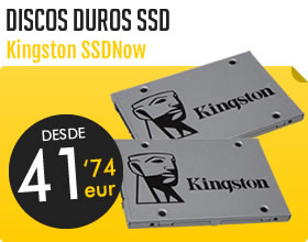 Discos duros SSD Kingston
