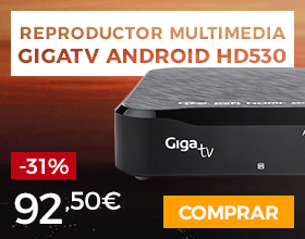 Giga TV Media Player Android HD530 1TB