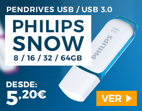 Pendrives Philips Snow