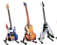 Mini guitarras de colección