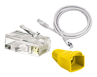 Red Ethernet RJ-45