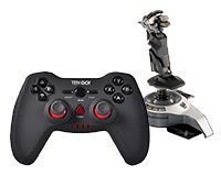 Joysticks y Gamepads
