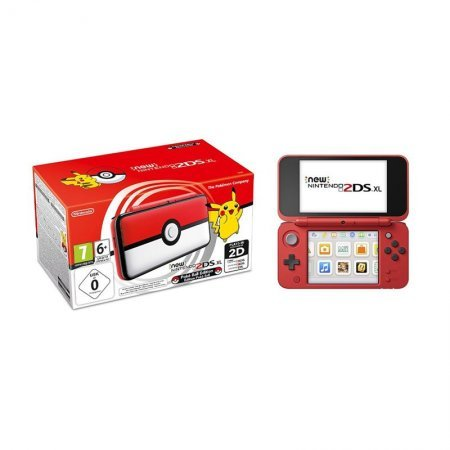 New Nintendo 2DS XL Pokeball Edition