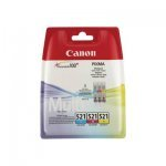 Canon Original Ink Cartridge CLI-521 Tricolor