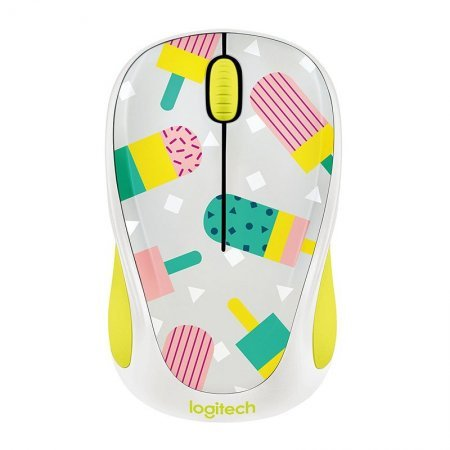 Ratón Inalámbrico Logitech M238 Party Collection Popsicles 1000DPI