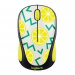 Ratón Inalámbrico Logitech M238 Party Collection Lemon 1000DPI