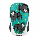 Ratón Inalámbrico Logitech M238 Party Collection Gorilla 1000DPI
