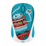Ratón Inalámbrico Logitech M238 Doodle Collection Skateburger 1000DPI