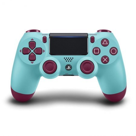 PS4 Sony Dual Shock 4 Berry Blue V2