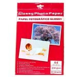Papel Foto Glossy 230 G/m2 Pack 20 uds A4 (297 x 210mm)
