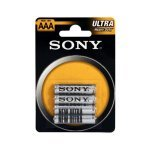 Pilas AAA Zinc-Carbon SONY pack 4 uds (R03NUB4A)