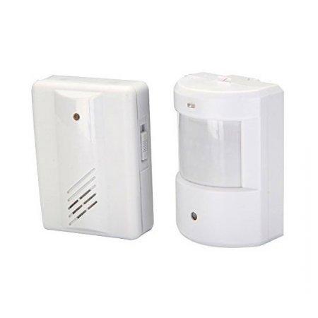 Alarma de deteccion de movimiento inalambrico con sonido for Sonido de alarma