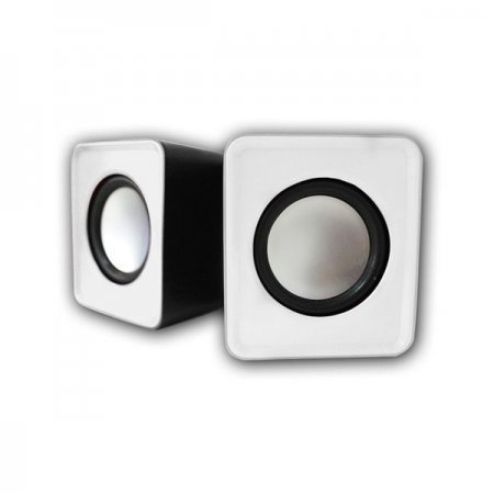 Altavoces 2.0 Approx USB Mini Speaker 5W Blanco